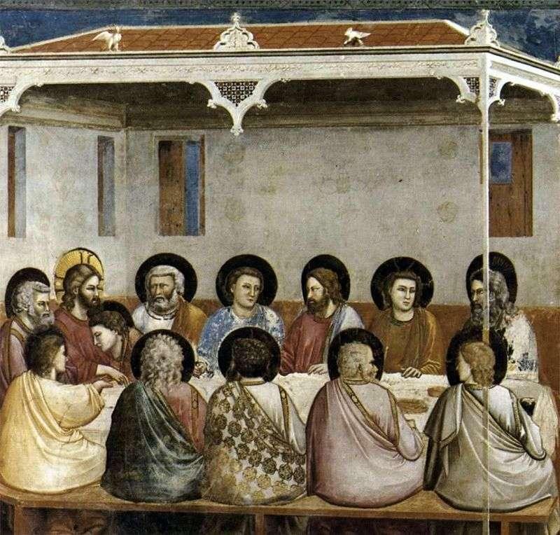 Ostatnia Wieczerza   Giotto