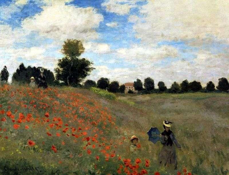 Maki, dzielnica Arzhanteya   Claude Monet
