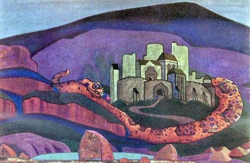 Miasto jest skazane na zagładę   Nicholas Roerich