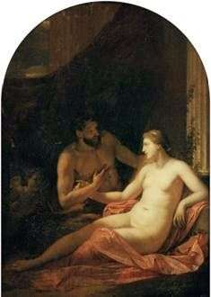 Hercules i Dejanira   Adrian van der Werff