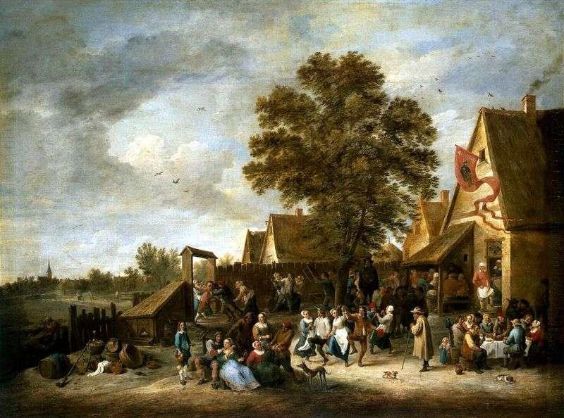 Wioska   David Teniers