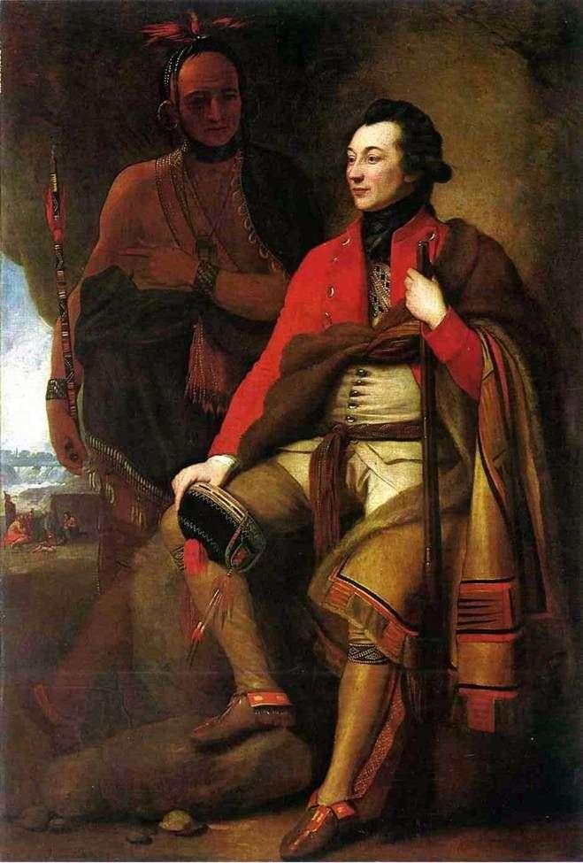 Portret pułkownika Guy Johnsona   Benjamina Westa