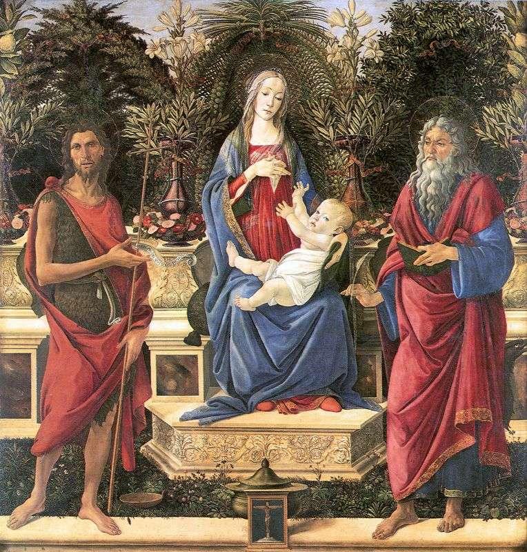 Ołtarz Bardi   Sandro Botticelli