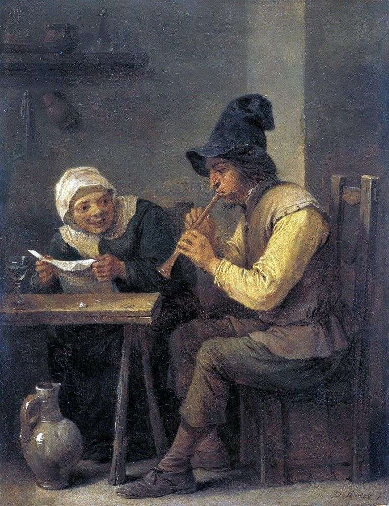 Duet   David Teniers