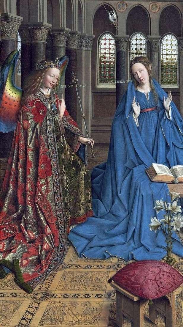 Zwiastowanie   Jan van Eyck
