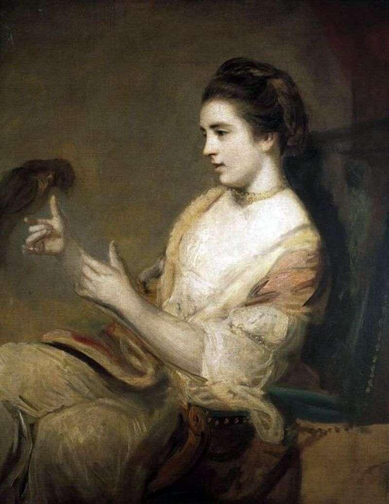 Kitty Fisher z papugą   Reynolds Joshua