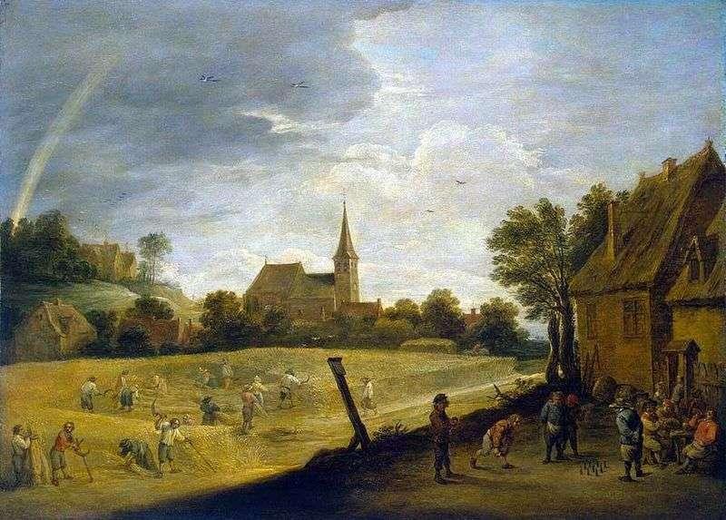 Zbiory (lato)   David Teniers