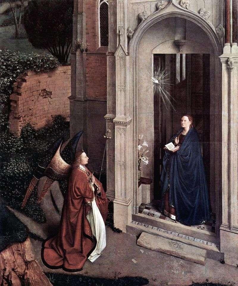 Zwiastowanie Kościoła   Jan van Eyck