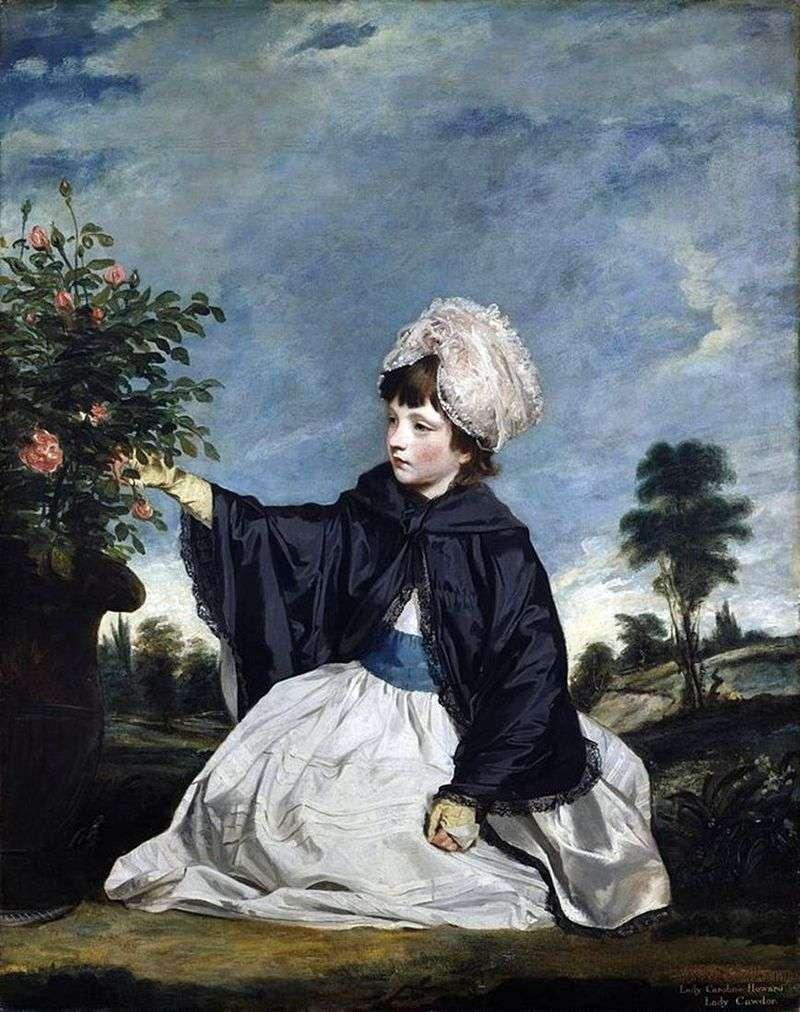 Lady Carolina Howard   Reynolds Joshua