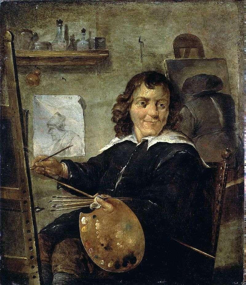 Malarz w swoim studio   David Teniers