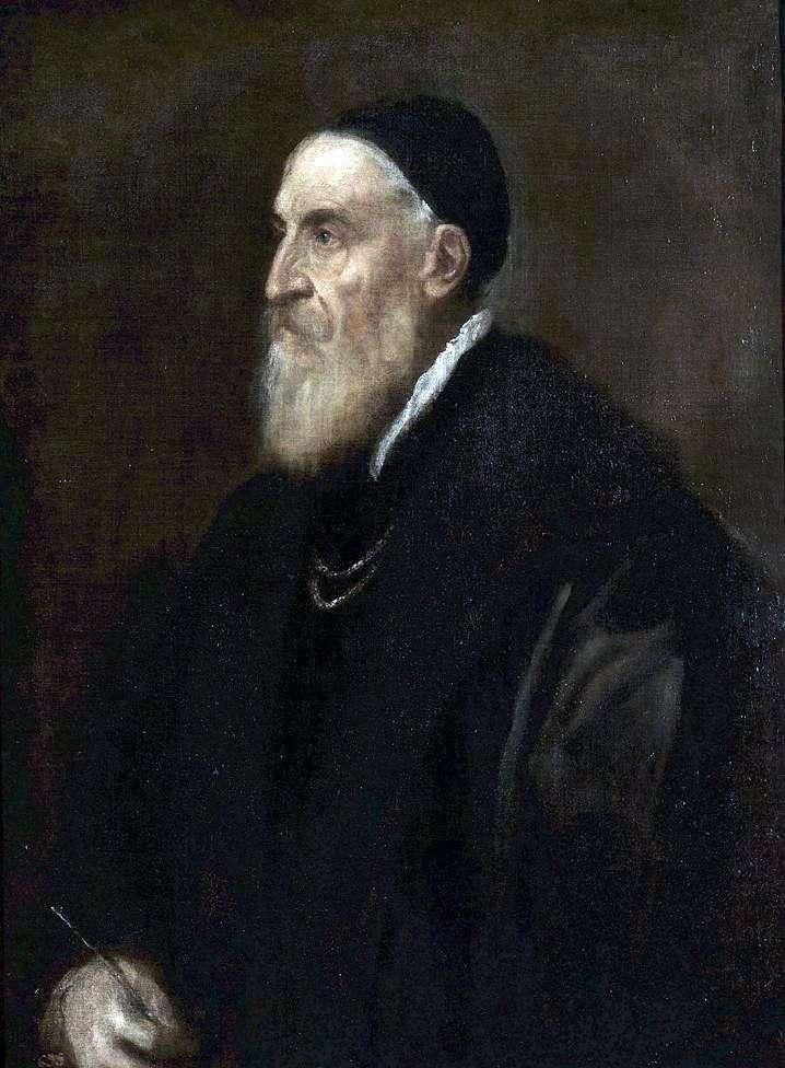 Autoportret   Titian Vecellio