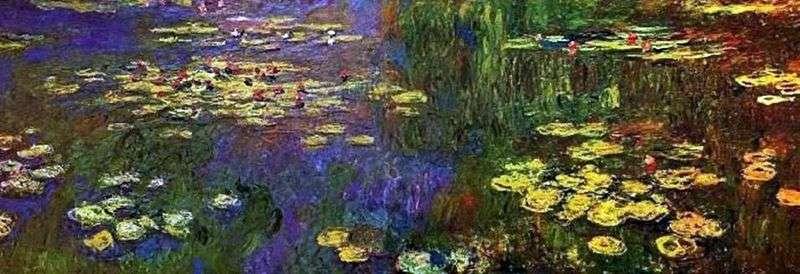 Nymphaea (Lilie wodne)   Claude Monet