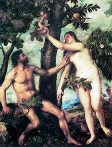 Adam i Ewa   Titian Vecellio