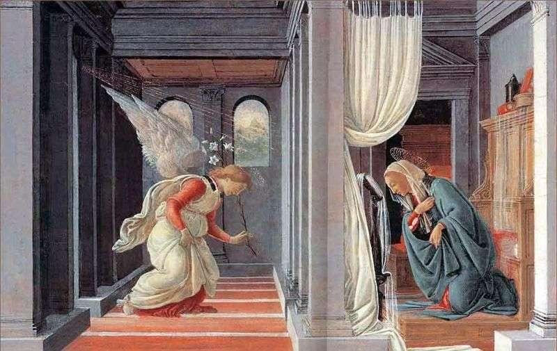 Zwiastowanie   Sandro Botticelli