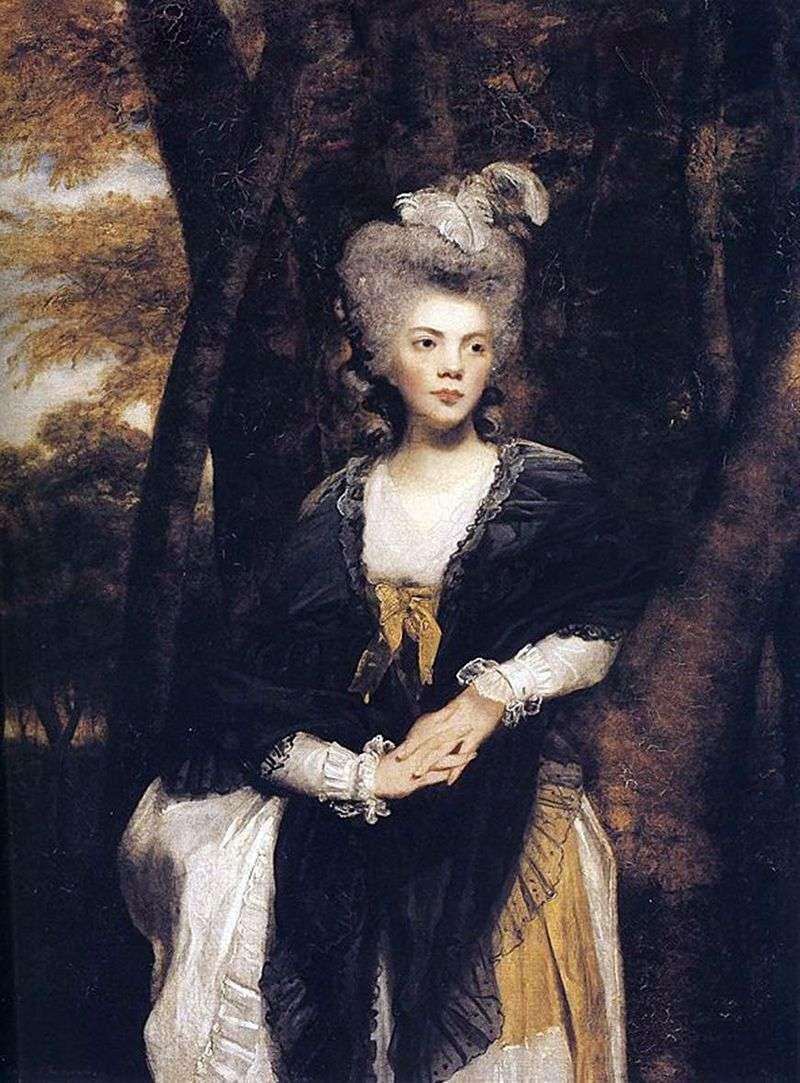 Lady Francis Finch   Reynolds Joshua