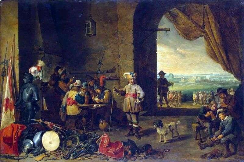 Strażnik   David Teniers