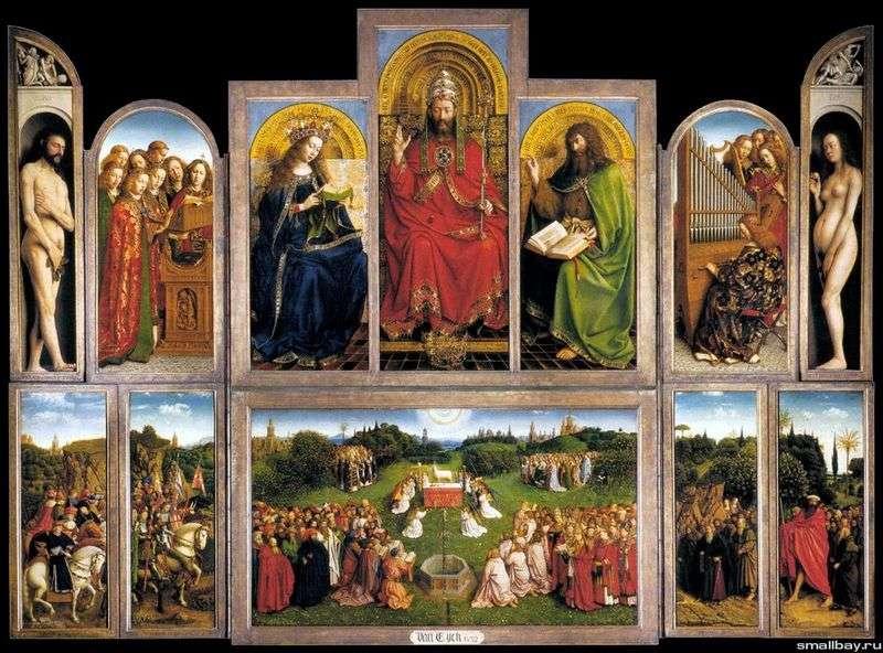 Ołtarz Gandawy   Jan van Eyck