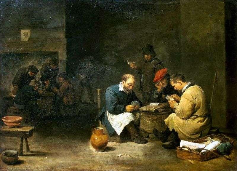 Hazardziści   David Teniers