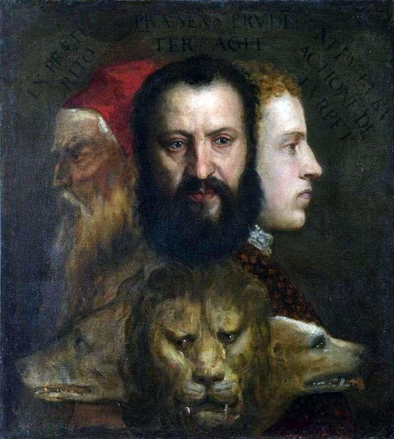 Alegoria roztropności   Titian Vecellio