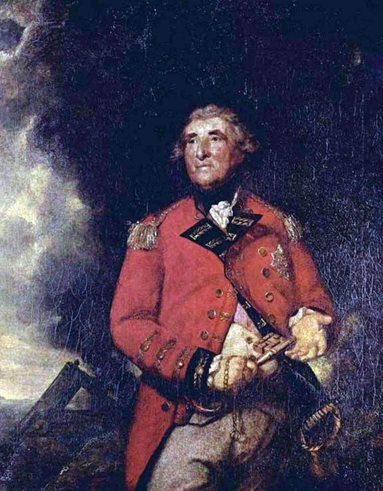 Lord Heathfield, gubernator Gibraltaru   Reynolds Joshua