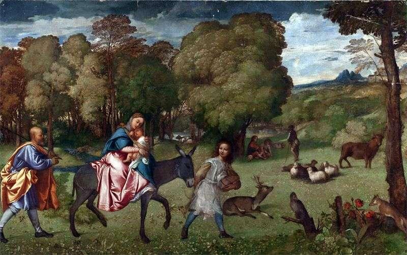 Lot do Egiptu   Titian Vecellio
