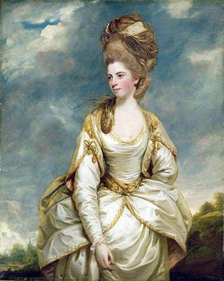 Miss Sarah Campbell   Reynolds Joshua