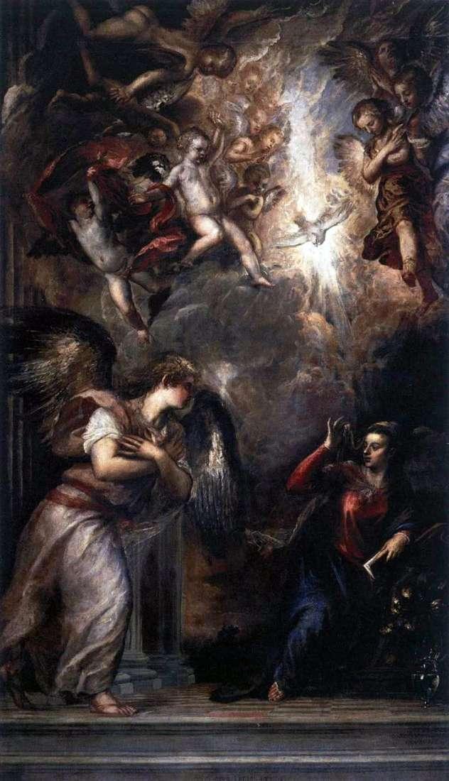 Zwiastowanie   Titian Vecellio