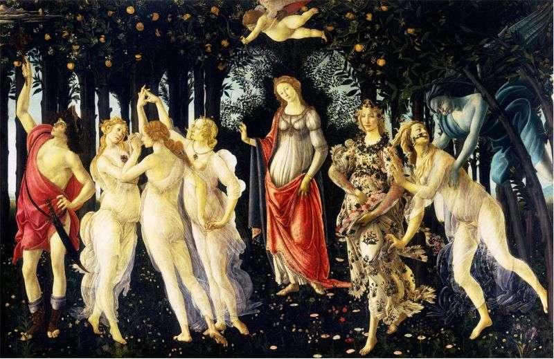 Wiosna   Sandro Botticelli