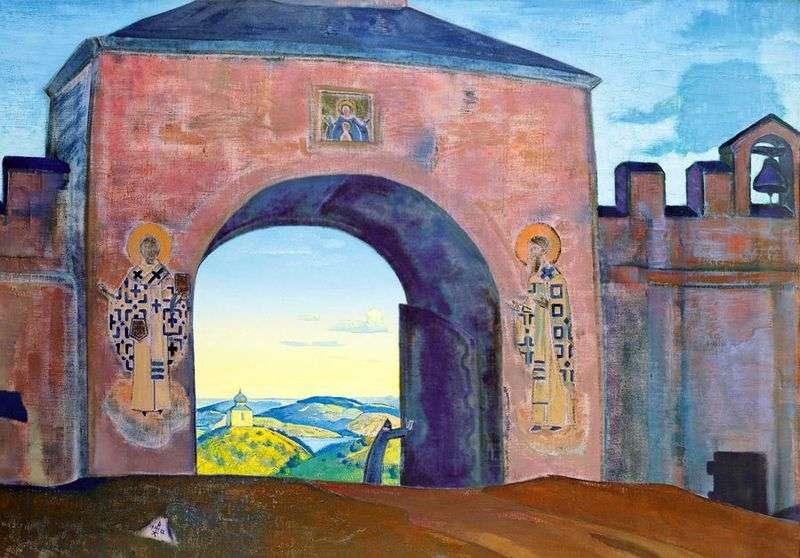 I otwieramy bramę   Nicholas Roerich