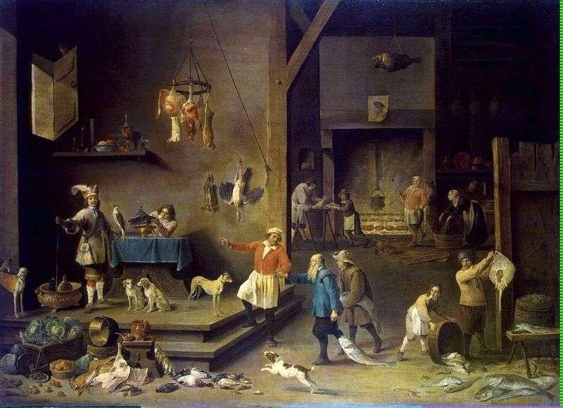 Kuchnia   David Teniers