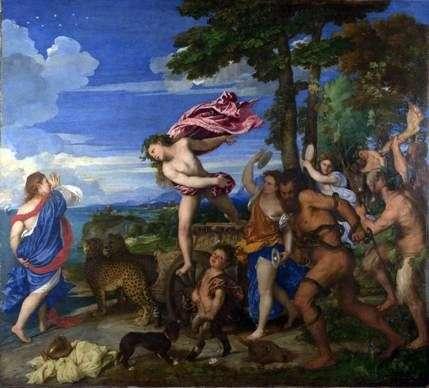 Bacchus i Ariadna   Titian Vecellio