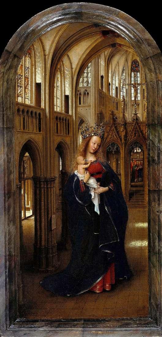 Madonna w kościele   Jan van Eyck