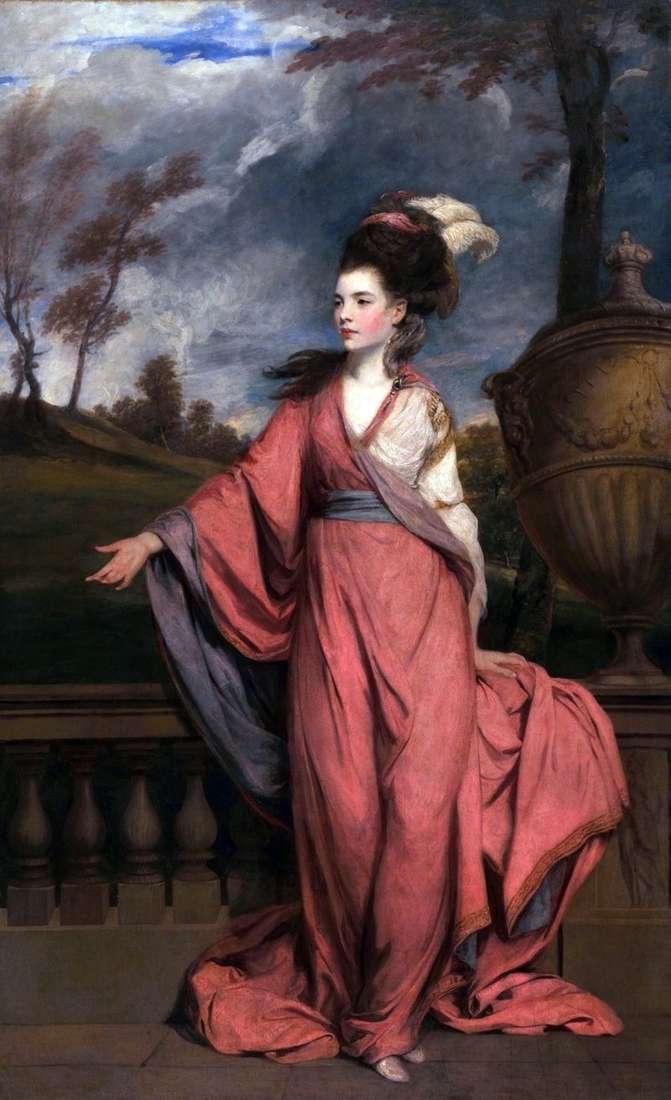 Portret Jane, hrabina Harrington   Reynolds Joshua