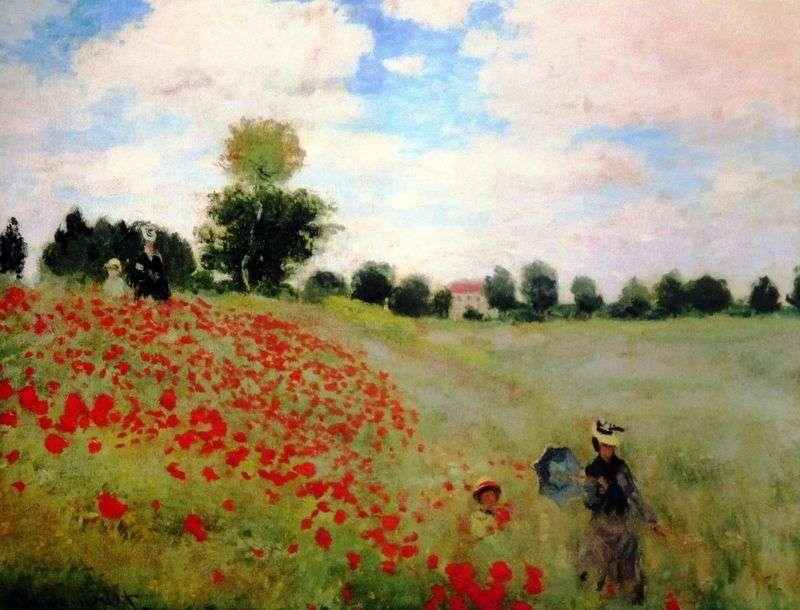 Pole maku   Claude Monet