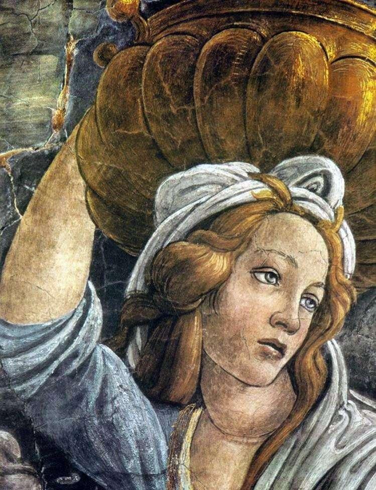 Córka Jethro (fragment)   Sandro Botticelli