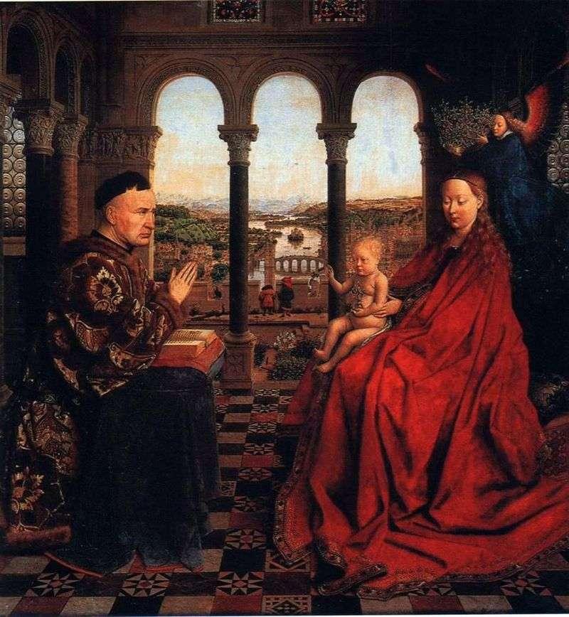 Madonna Chancellor Rohlen   Jan van Eyck
