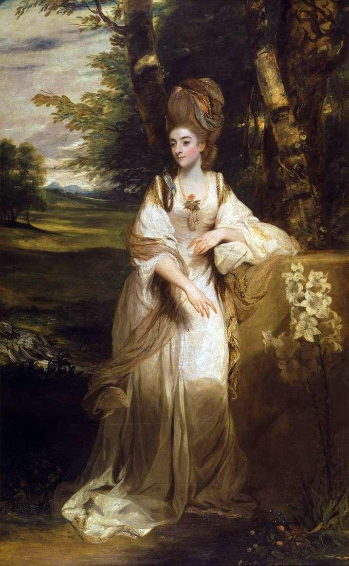 Portret Lady Bumpfild   Reynolds Joshua