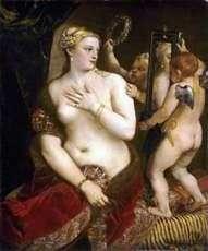 Wenus z lustrem   Titian Vecellio