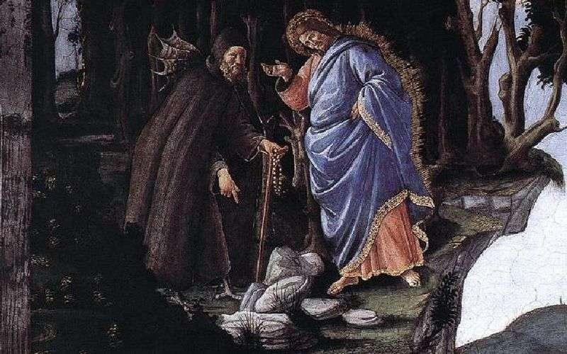 Kuszenie Chrystusa   Sandro Botticelli