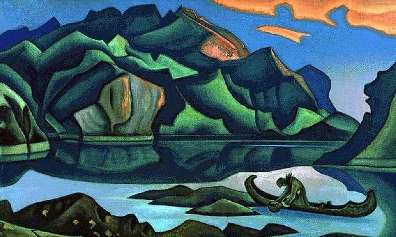 Pochowany skarb   Nicholas Roerich