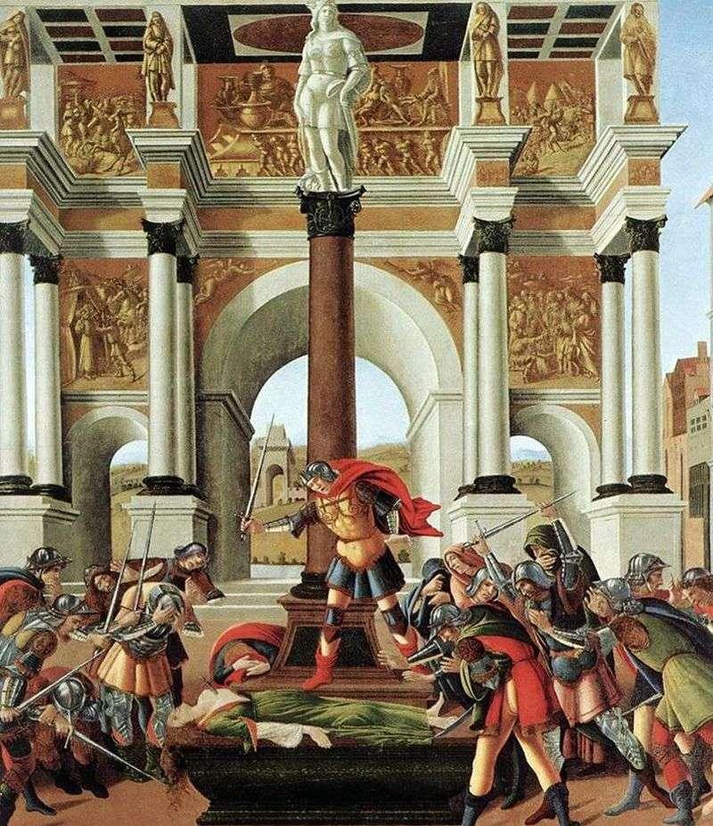 Historia Lukrecji   Sandro Botticelli