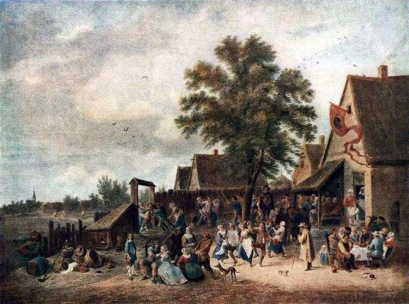 Wakacje we wsi   David Teniers