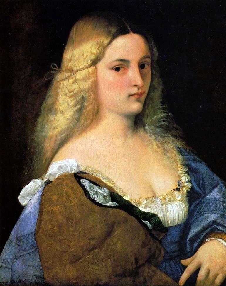 Violanta   Titian Vecellio