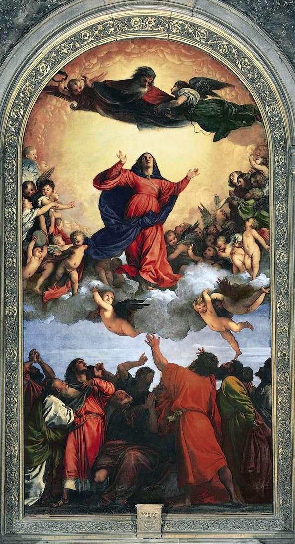Wniebowstąpienie Matki Bożej (Assunta)   Titian Vecellio