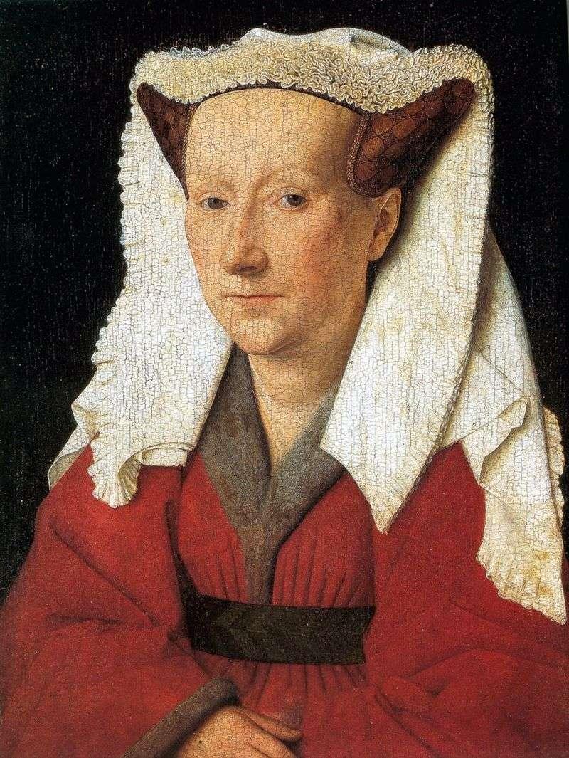 Portret żony Margret van Eyck   Jan van Eyck