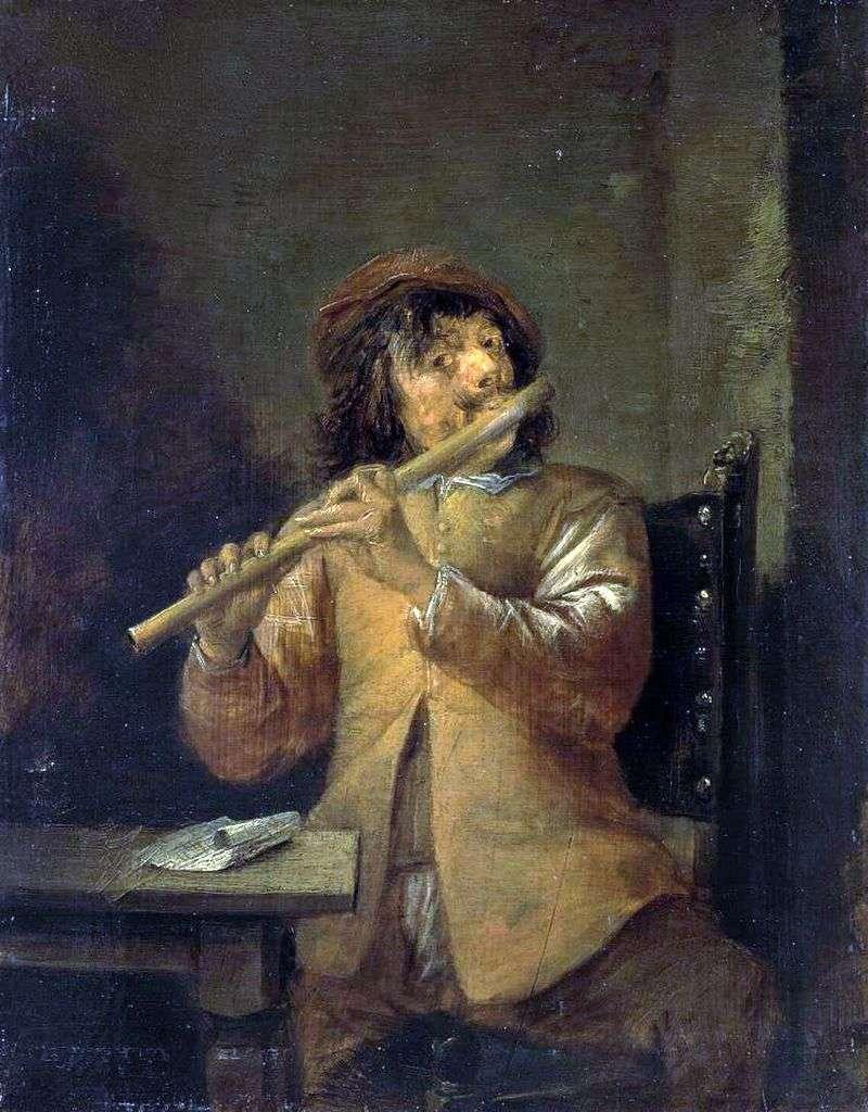 Flecista   David Teniers