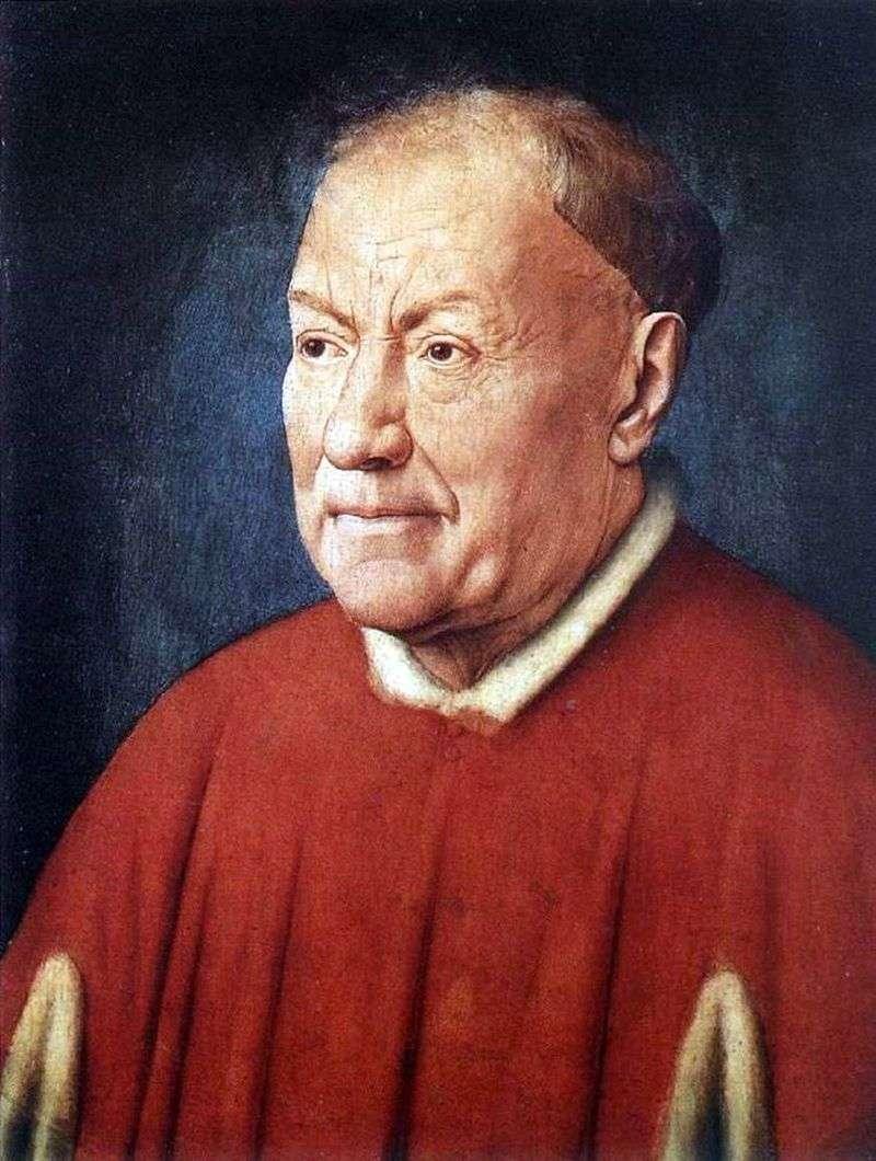 Portret kard. Niccolò Albergati   Jan van Eyck