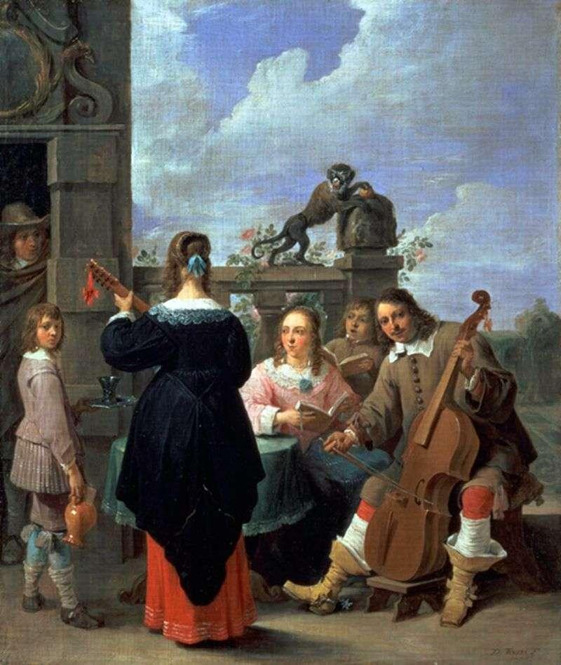 Artysta rodzinny   David Teniers