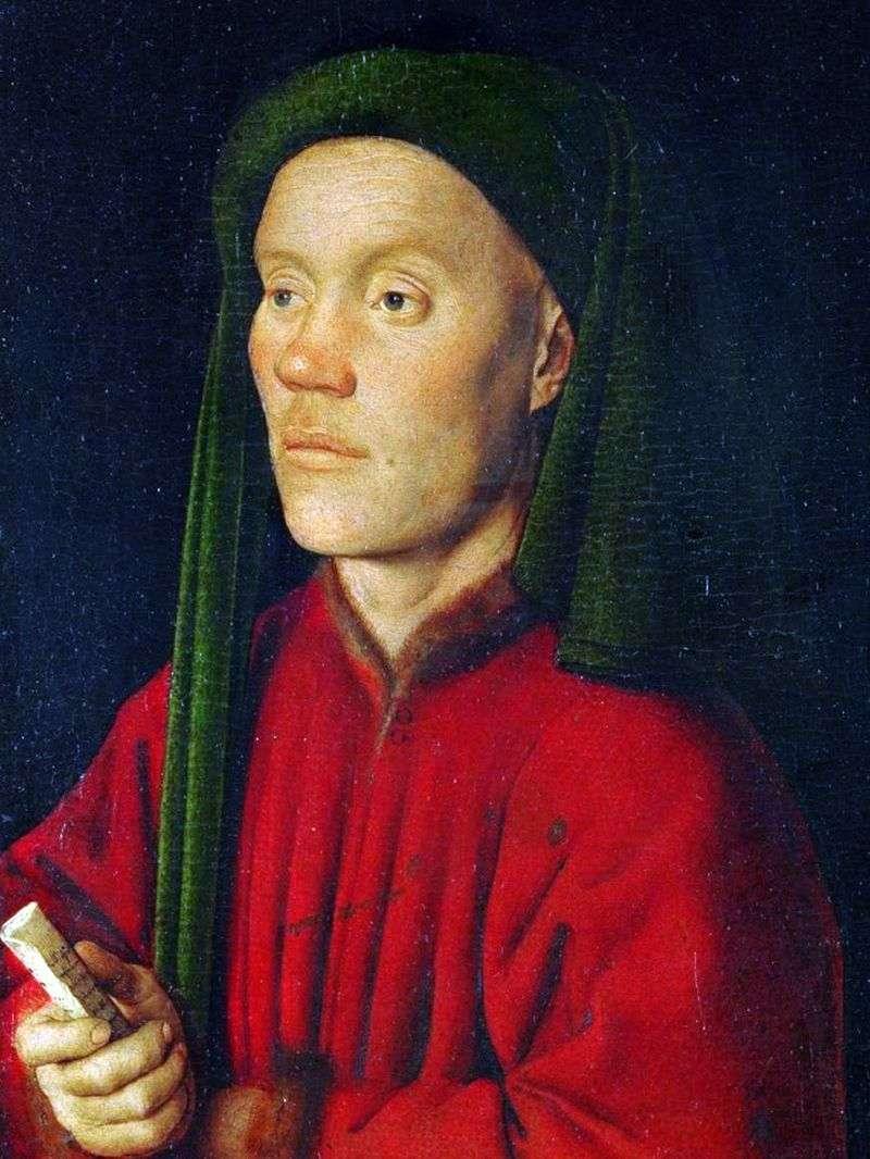 Portret młodego mężczyzny (Timofey)   Jan van Eyck