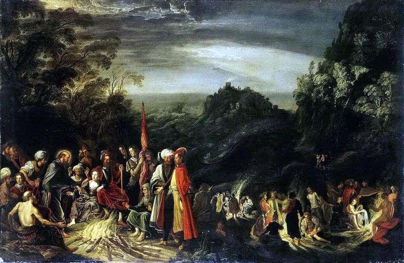 Cud apostoła Pawła na Malcie   David Teniers